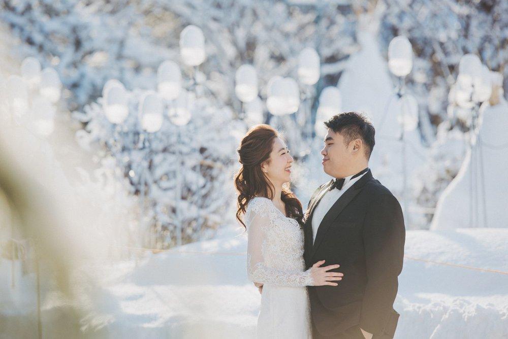 北海道婚紗,海外婚紗
