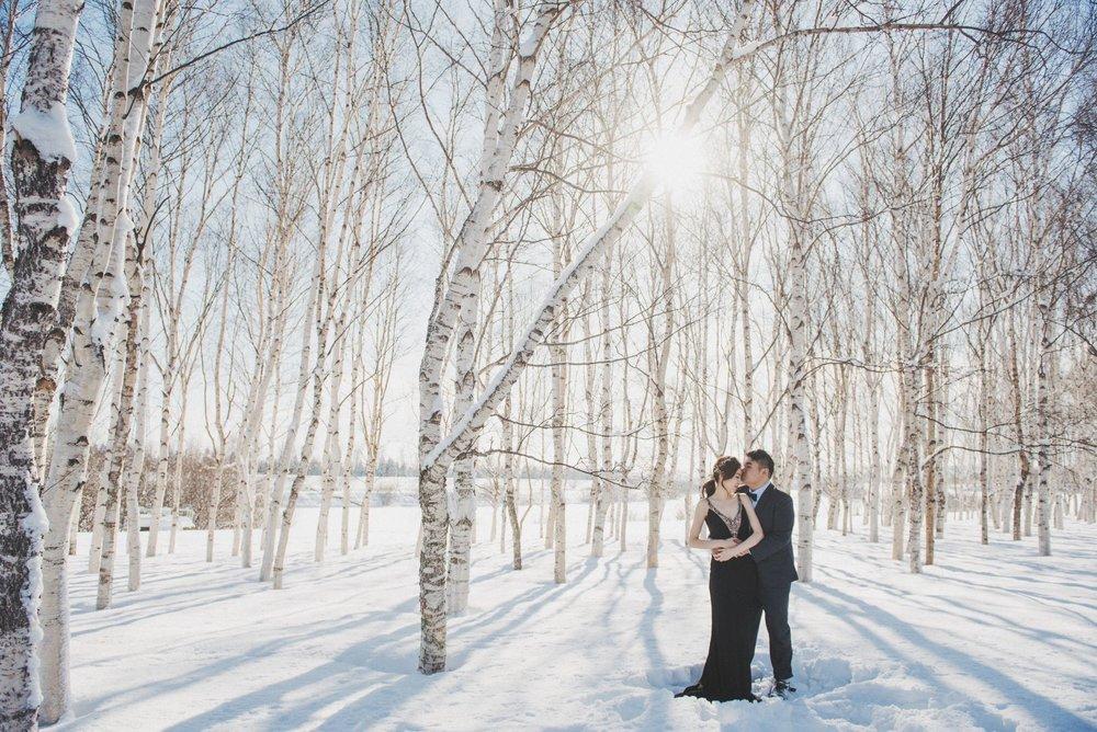 北海道婚紗,海外婚紗推薦工作室