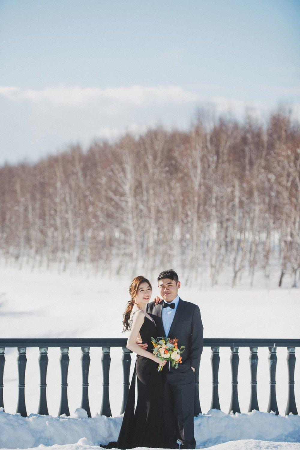 海外婚紗攝影,北海道婚紗攝影工作室