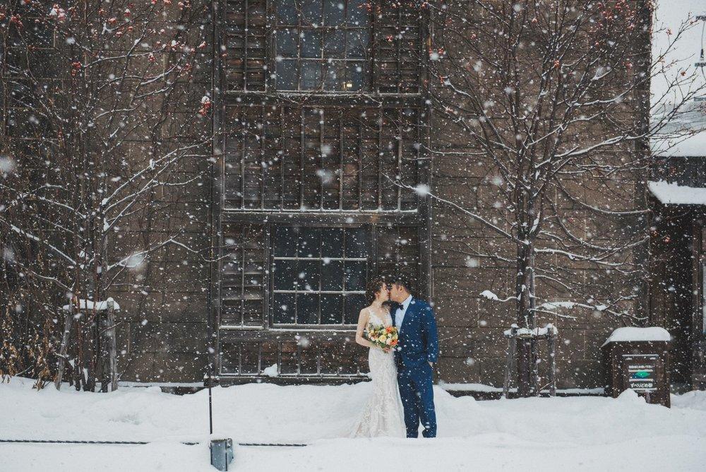 北海道婚紗攝影,雪地婚紗,婚紗推薦工作室,Hokkaido