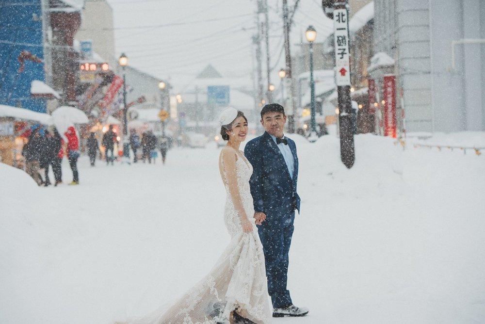 小樽海外婚紗,Hokkaido,Wedding Photo