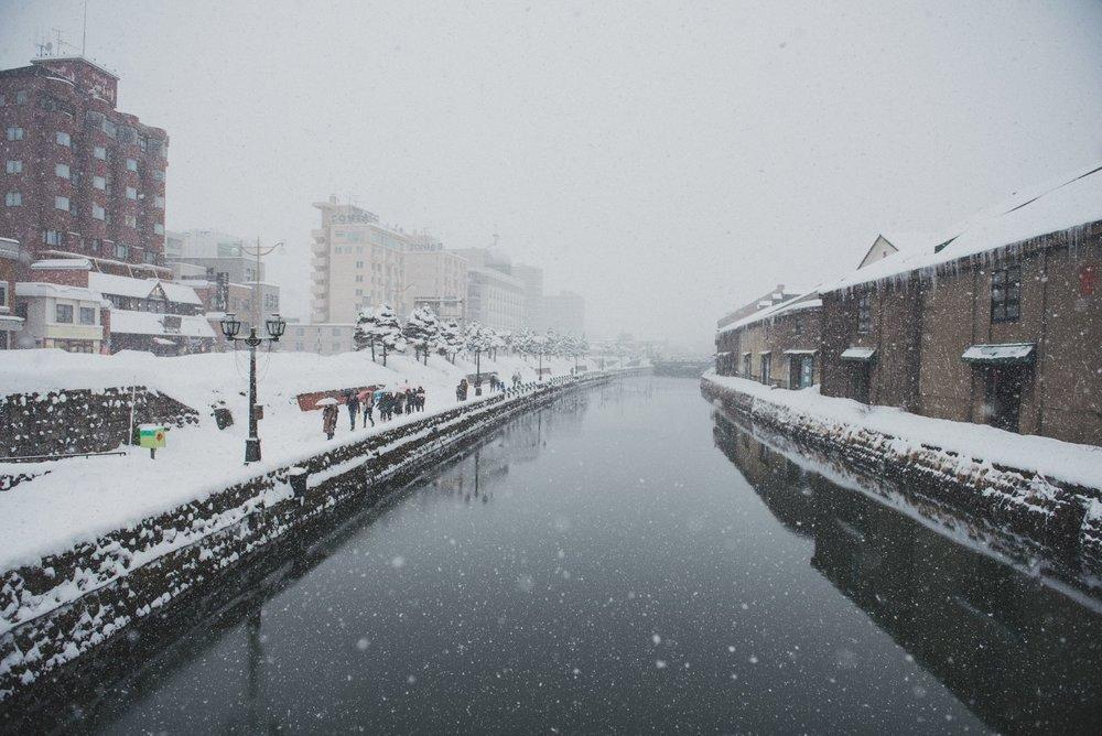 北海道小樽運河,北海道婚紗拍攝景點