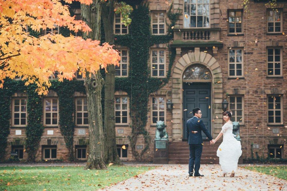 紐約秋季婚紗拍攝