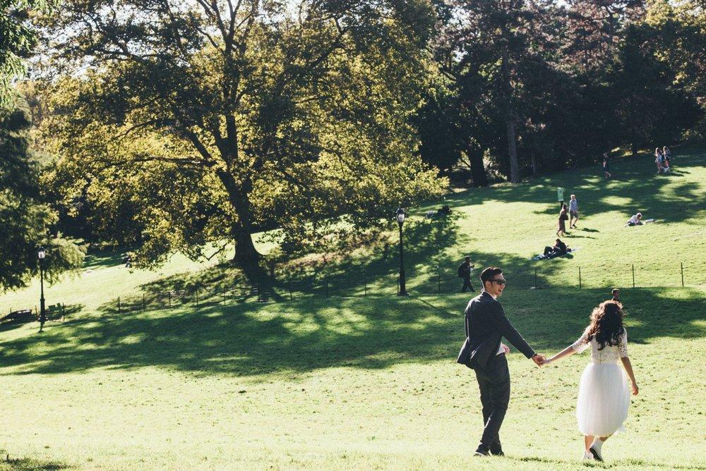 紐約海外婚紗,拍攝場景推薦中央公園