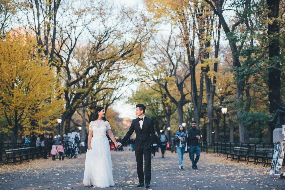 紐約秋季海外婚紗團,婚紗攝影