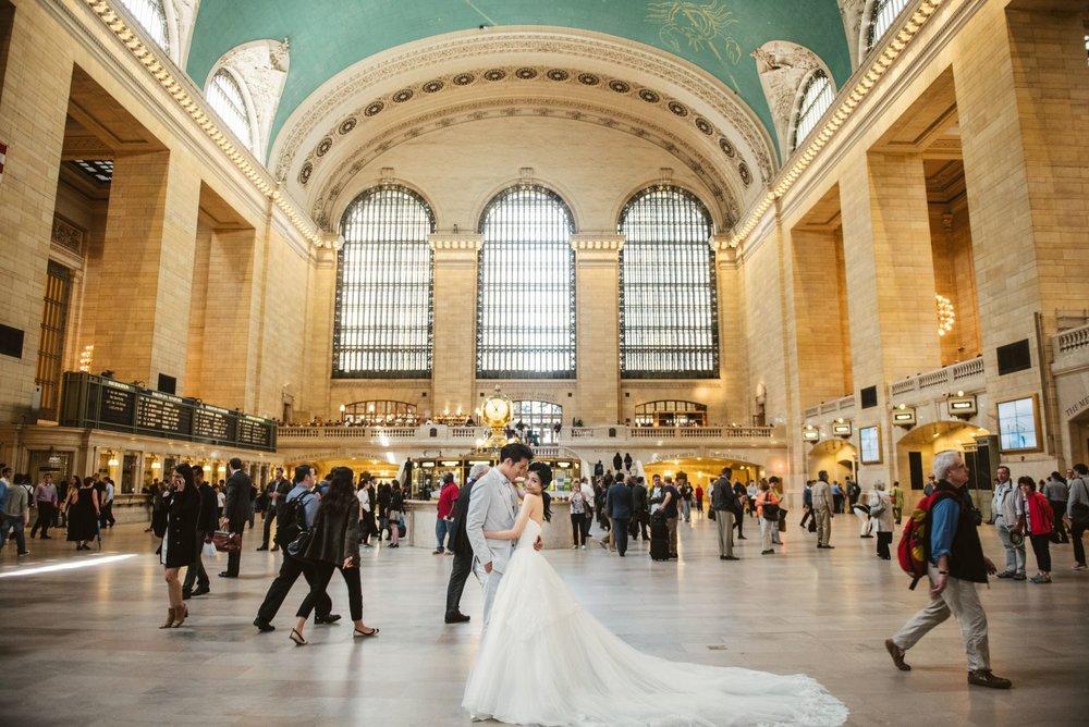 紐約婚紗拍攝景點,Grand Central