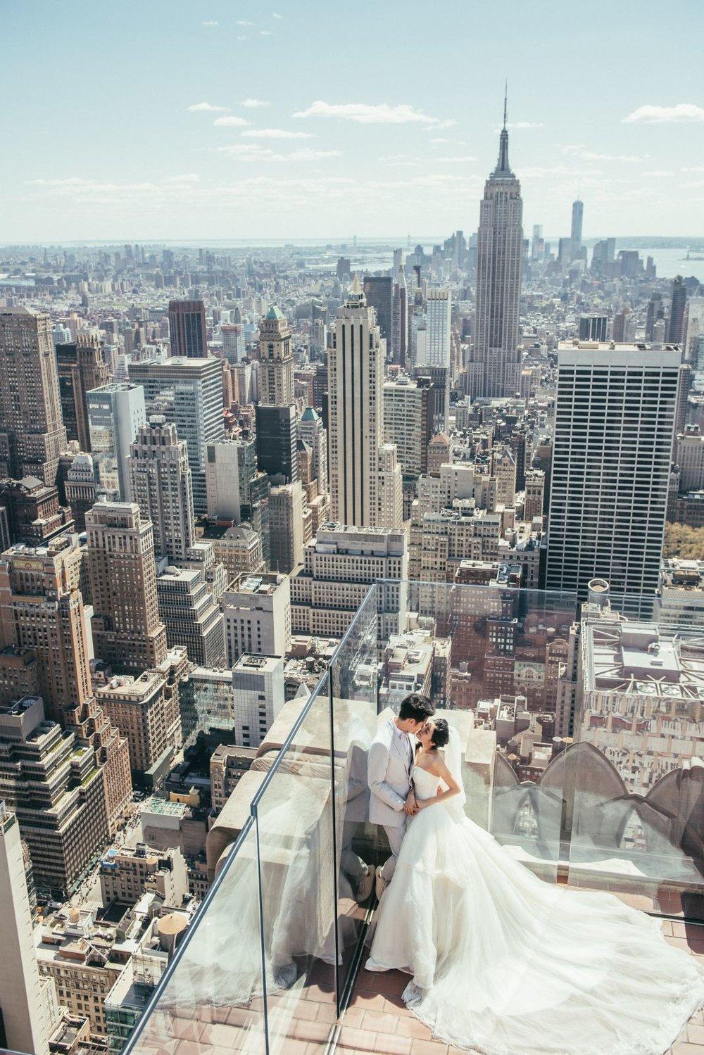 紐約,洛克斐勒大樓婚紗拍攝