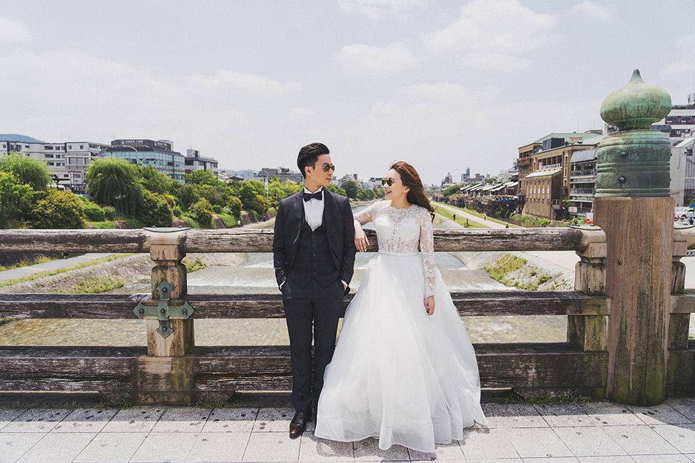 京都海外婚紗_拍攝景點鴨川