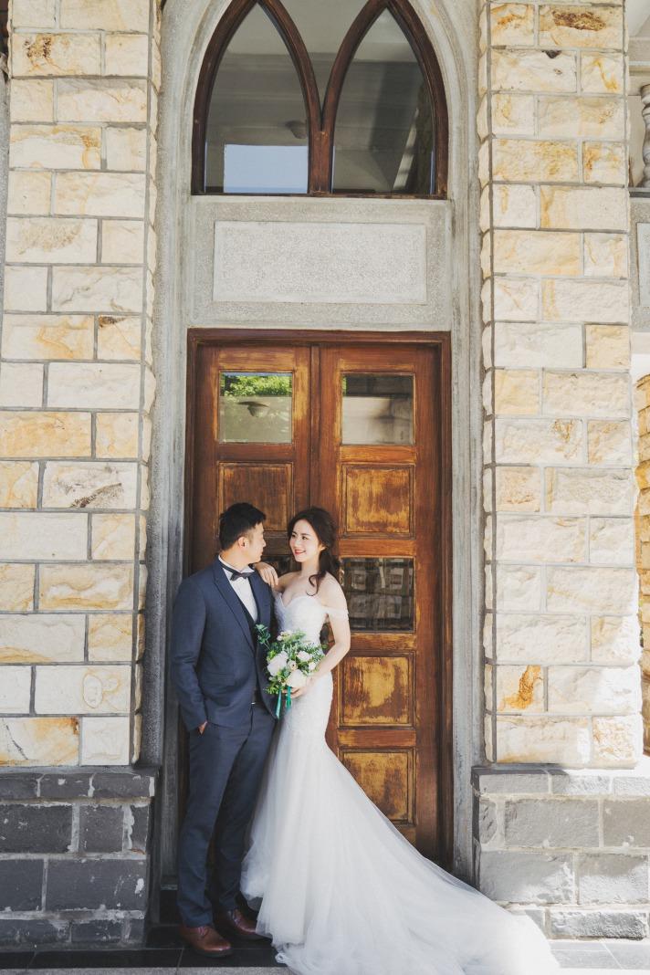 淡水教堂拍攝婚紗