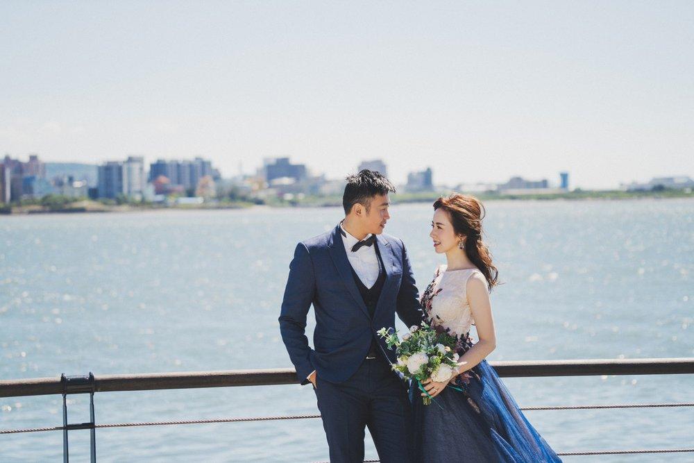 淡水河邊婚紗攝影