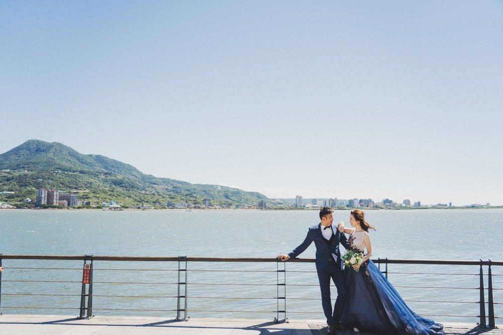 婚紗拍攝景點,淡水