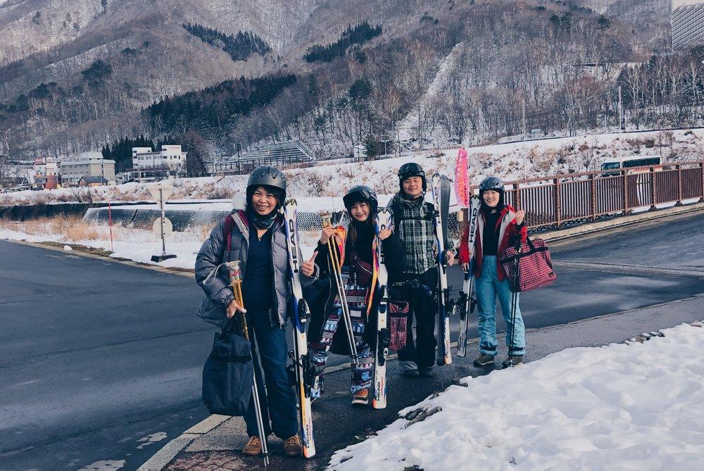 滑雪學習初體驗