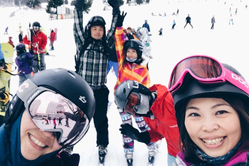 苗場王子飯店滑雪