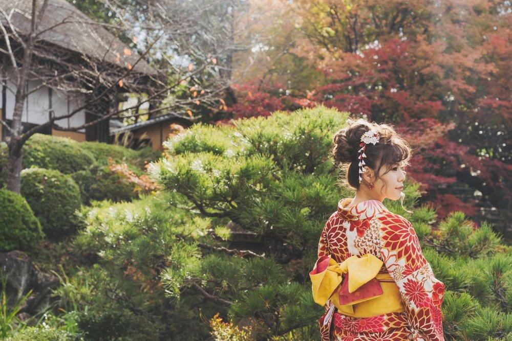 和服寫真,purefoto京都婚紗