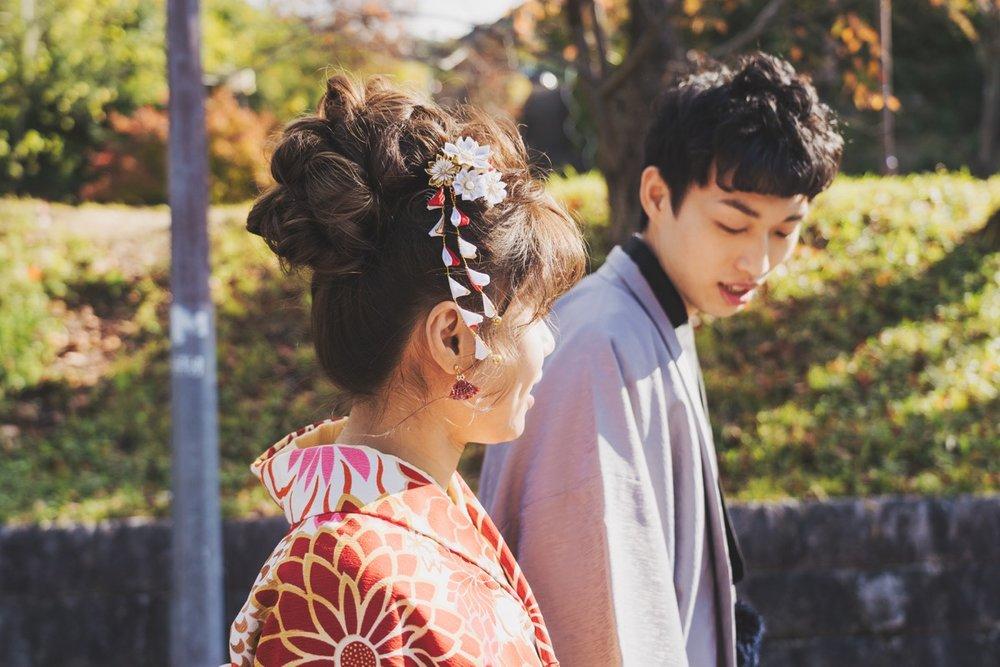 和服寫真,purefoto京都婚紗,2019京都婚紗側拍