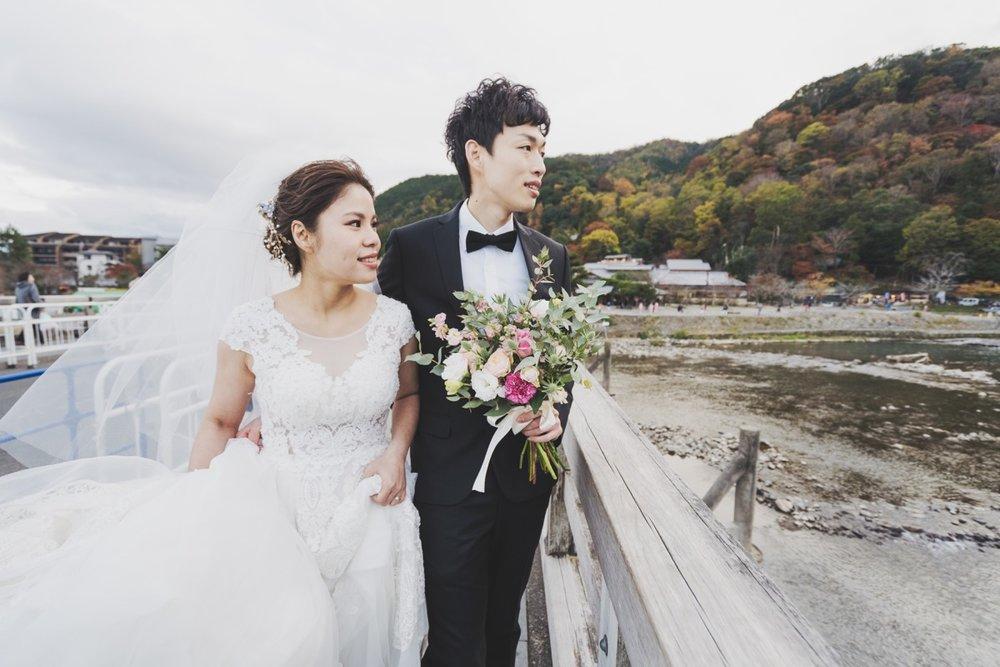 嵐山渡月橋,京都海外婚紗,PUREFOTO