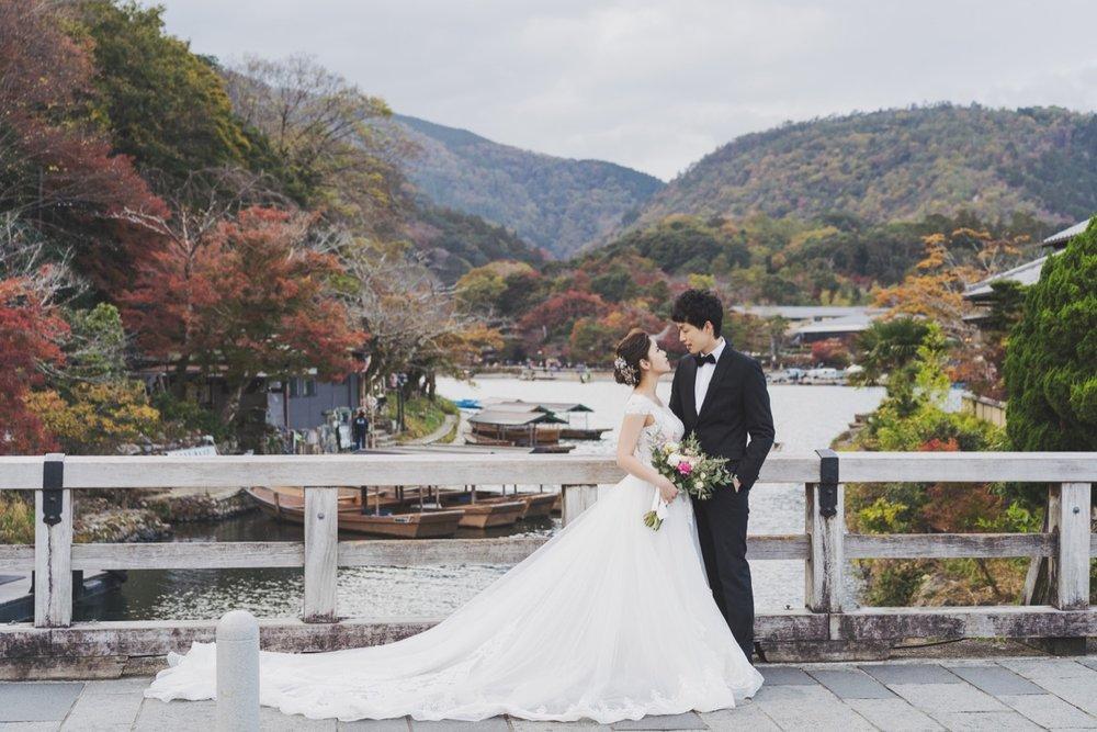 嵐山婚紗拍攝,紅葉婚紗,2019海外婚紗
