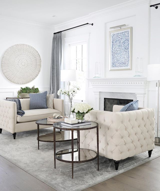 Having a Friday moment in this formal sitting room we designed, which practically breeds good wine and good conversation, am I right? #tgif #beautiful