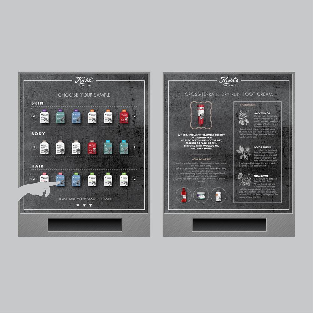 Samples Vending Machine
