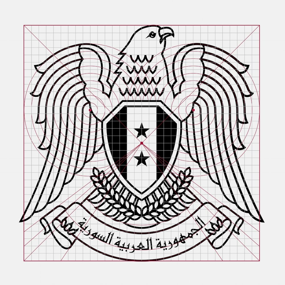 The Syrian Falcon construction & grid