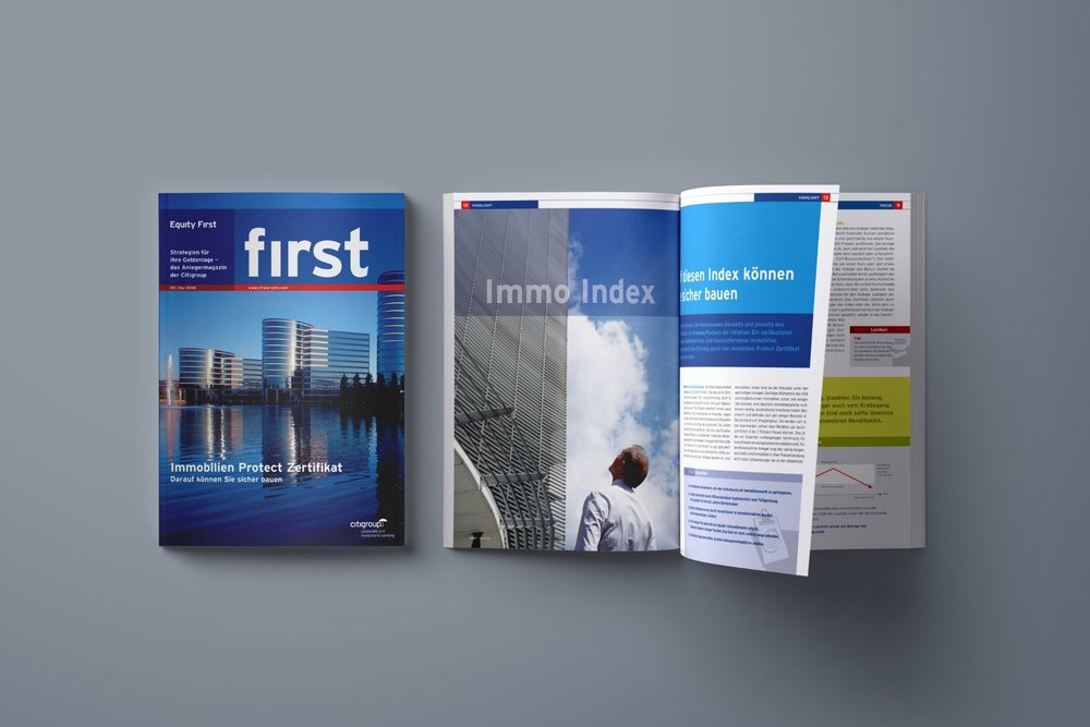 """FIRST"" CUSTOMER MAGAZINE"