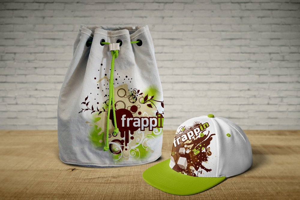 Frappin merchandise items