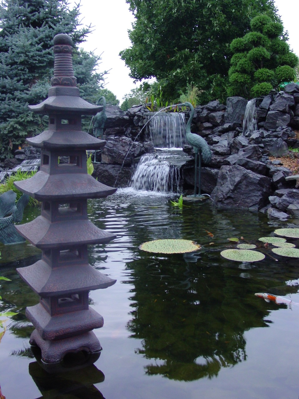 Falls with Crains and Pagoda.jpg