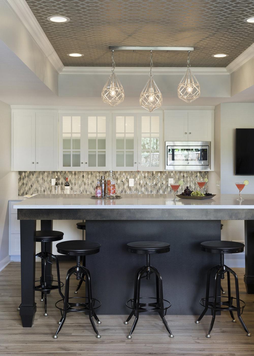 Moms Design Build - Basement Table Remodel Wallpaper