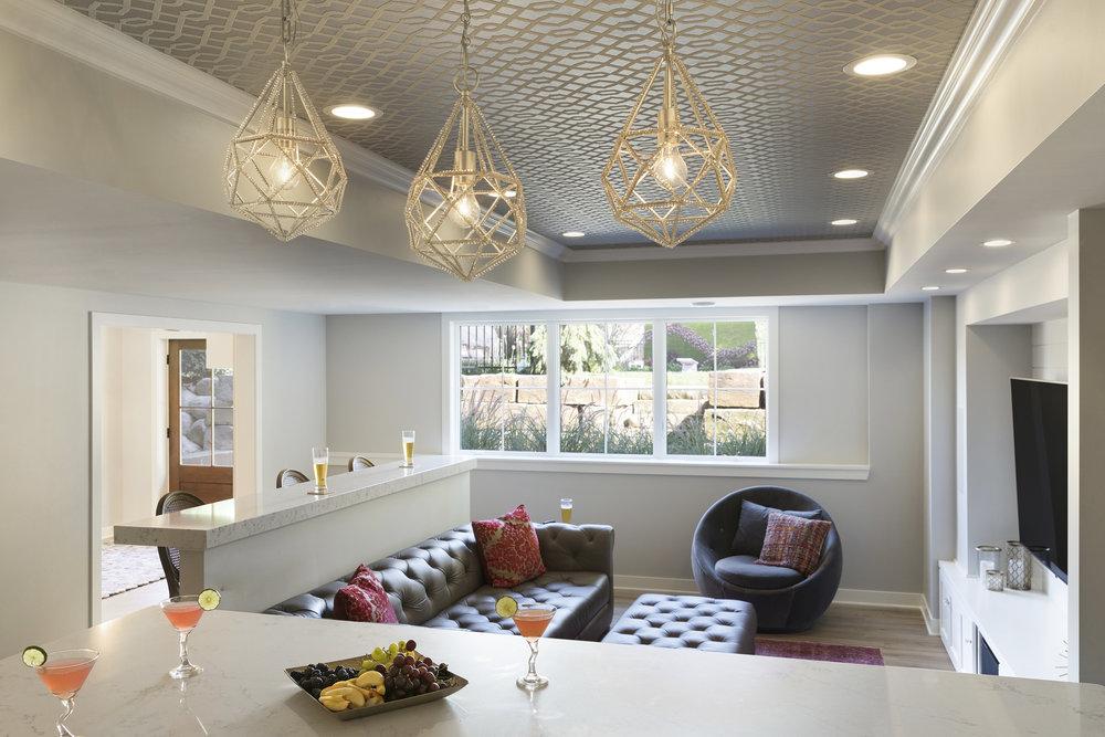 Moms Design Build - Interior Basement Remodel