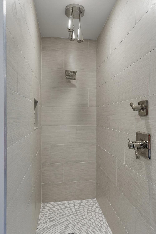 Moms Design Build - Interior Design Modern Bathroom Shower