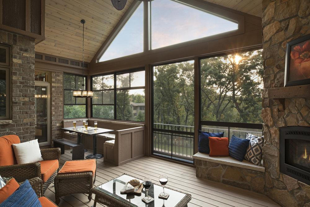 Inver Grove Heights three-season porch
