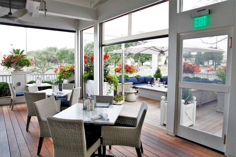 Mom's Design Build - Indoor Outdoor Dining Tables
