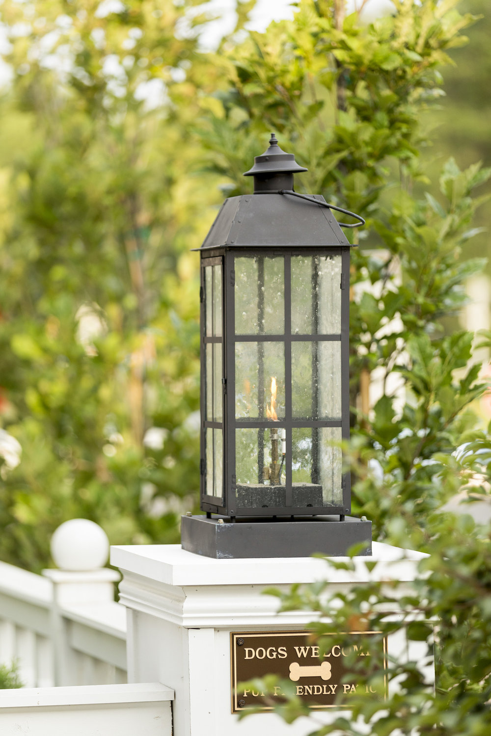 Mom's Design Build - Natural Gas Lantern