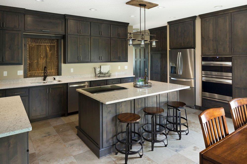 Moms Design Build - Rustic Kitchen Storage System