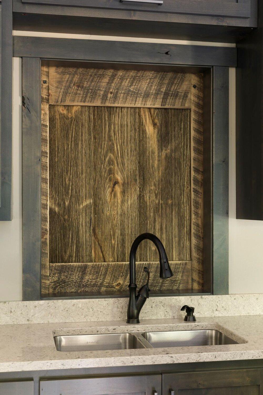 Moms Design Build - Custom Barn Door Kitchen Sink