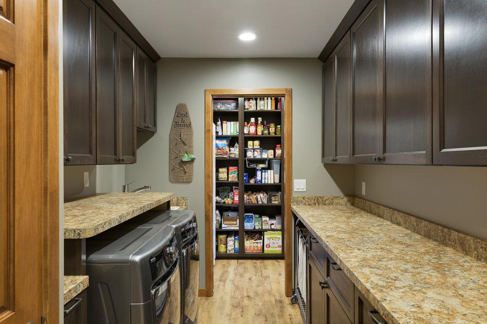 Moms Design Build - Kitchen Remodel Design lower level