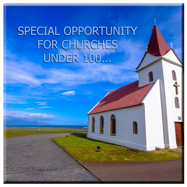 "I love the small church and have a limited number of dates available to come to smaller churches for travel expenses only. Click on the ""Check Availability"" button to request more info."