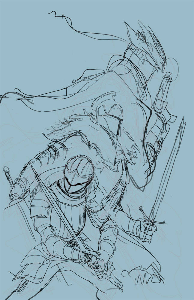 Dark souls sketch