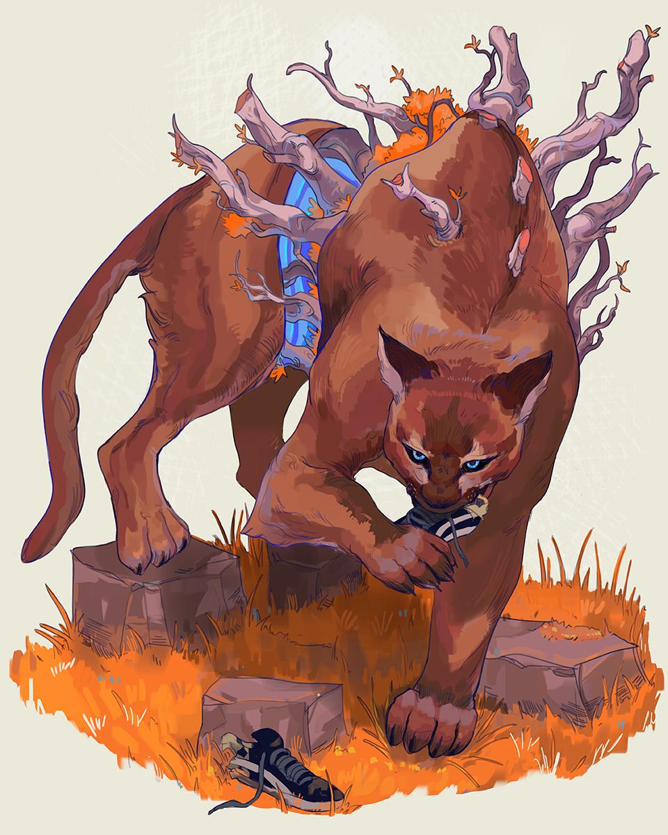 Puma Cannibalism