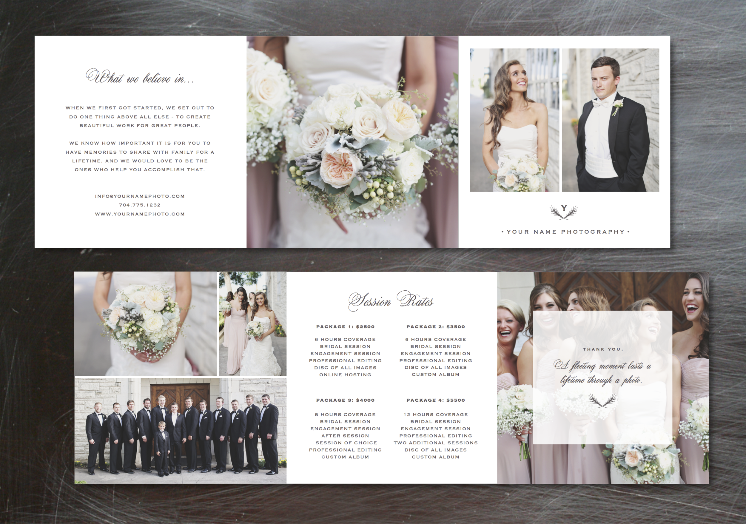 Wedding photography marketing templates for Photography marketing templates