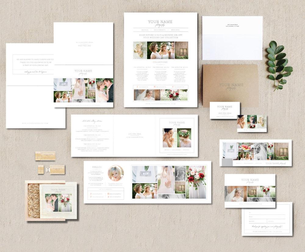 photographer marketing materials