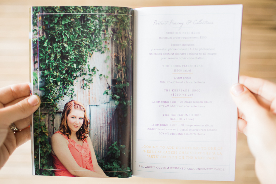 senior photography templates