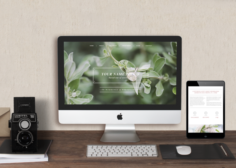Squarespace Website Template