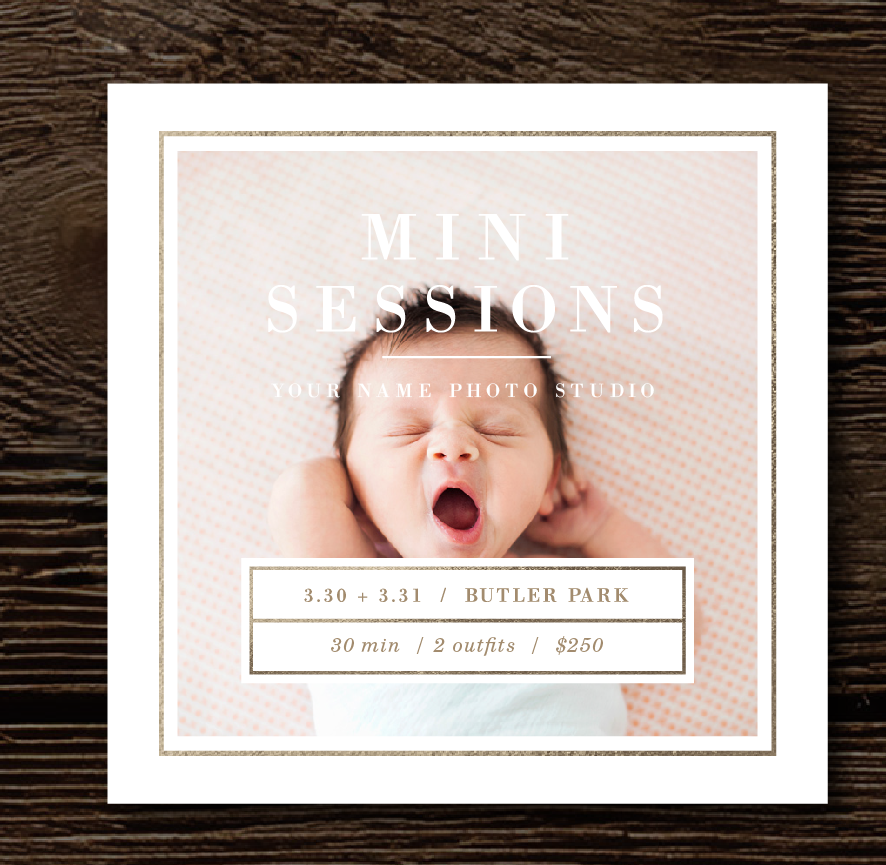 mini-session-templates