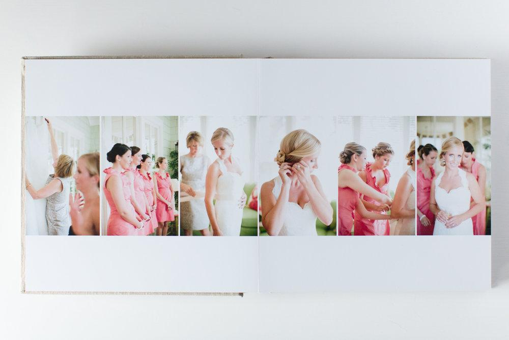 Photographer album design.