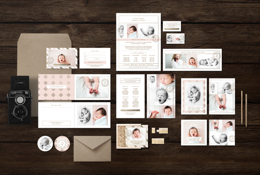newborn-photographer-marketing-set