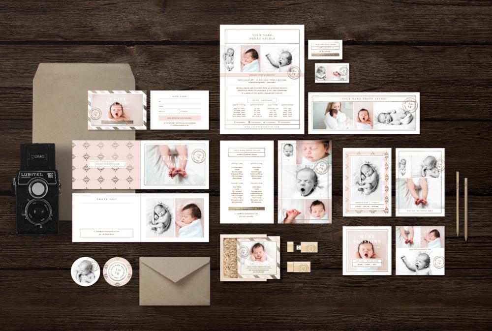 newborn-photographer-marketing-set