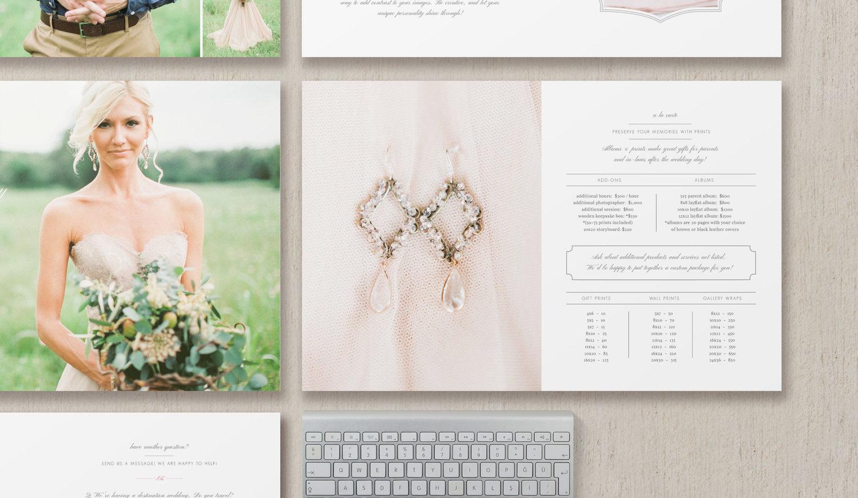 Wedding Photography Magazine Template – Eucalyptus
