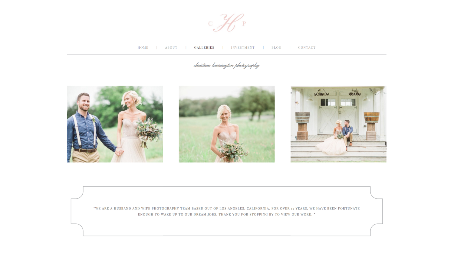 Squarespace Website Design & Wedding Welcome Package – Eucalyptus