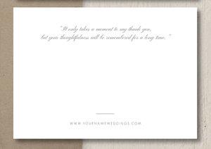 thank you card template eucalyptus